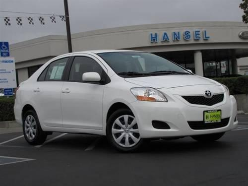 2010 Toyota Yaris Sedan Sedan For Sale In Santa Rosa