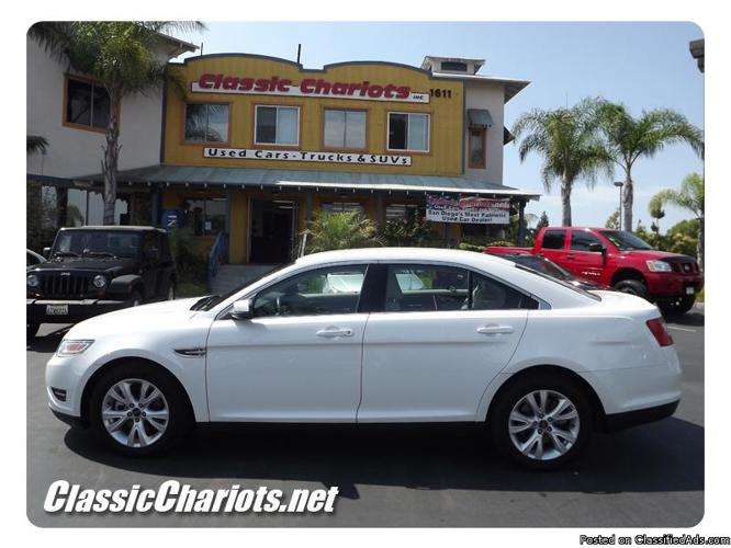 2010 used ford taurus sel w leather for sale in san diego 9870 for sale in vista california. Black Bedroom Furniture Sets. Home Design Ideas