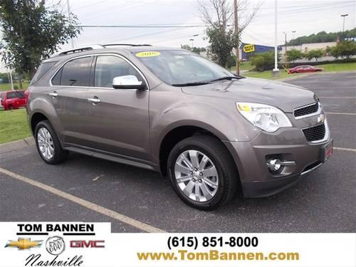 2010 chevrolet equinox suv ltz awd w sunroof for sale in am qui tennessee classified. Black Bedroom Furniture Sets. Home Design Ideas