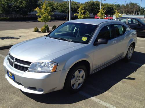 2010 dodge avenger sedan sxt for sale in albany oregon. Black Bedroom Furniture Sets. Home Design Ideas