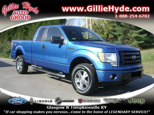 2010 ford f 150 super cab pickup 4x4 stx 4x4 for sale in dry fork kentucky classified. Black Bedroom Furniture Sets. Home Design Ideas