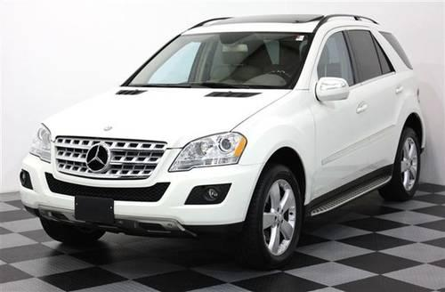 2010 mercedes benz m class suv ml350 4matic awd navigation for Mercedes benz suv 2010 price