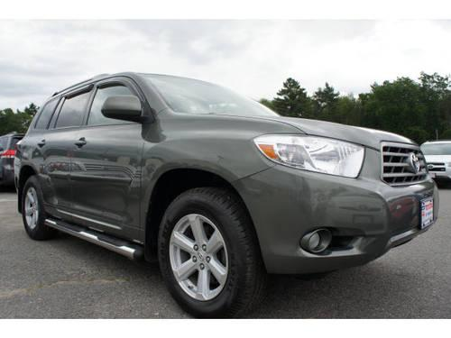 2010 toyota highlander suv 4x4 se for sale in raynham. Black Bedroom Furniture Sets. Home Design Ideas