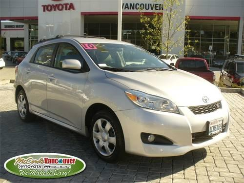 2010 TOYOTA Matrix Wagon 5DR WGN AUTO S AWD in Vancouver, Washington ...