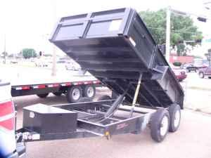 2011 12k DUMP TRAILER W/RAMPS MUST SELL!!!!!!!!!! -