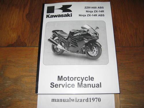 2011 2012 kawasaki ninja zx 10r abs parts catalog manual