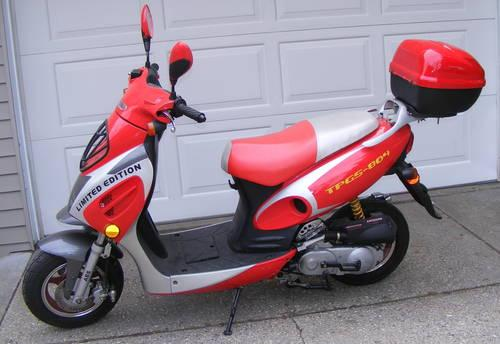 Crotch Rocket For Sale >> 2011-49cc-KAITONG SCOOTER-pre-owned, LOW MILEAGE! RUNS ...