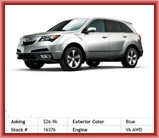 2011 Acura MDX Base SUV For Sale In Salt Lake City, Utah