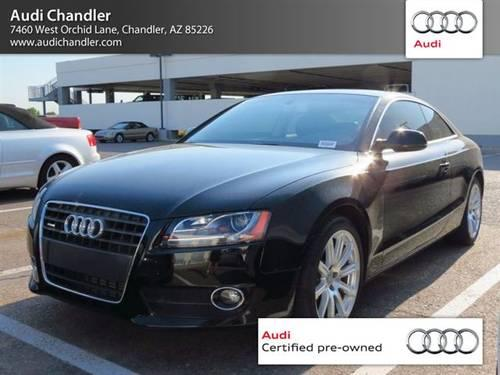 2011 Audi A5 Coupe 2 0t Premium Plus For Sale In Chandler
