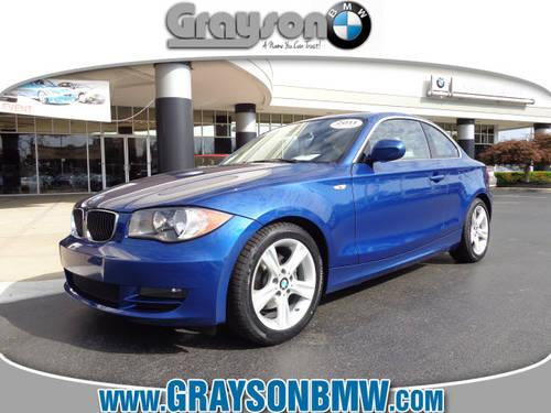 2011 BMW 128i 2 Dr Coupe SULEV