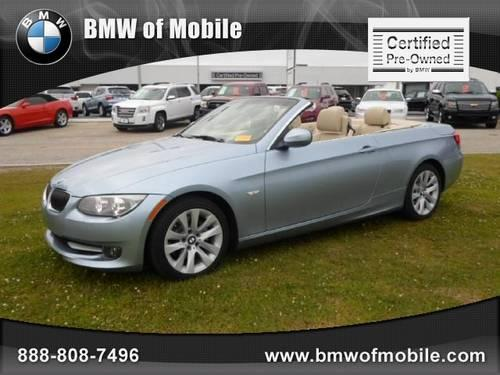 2011 BMW 3 Series Coupe 2dr Conv 328i