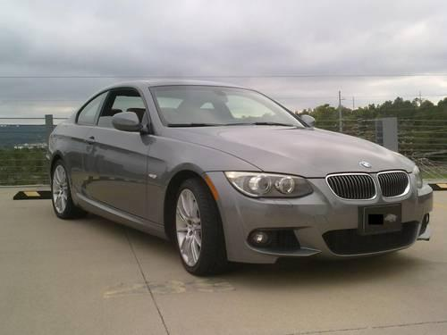 2011 bmw 335i xdrive coupe space gray manual 28k mi for sale in fayetteville arkansas. Black Bedroom Furniture Sets. Home Design Ideas