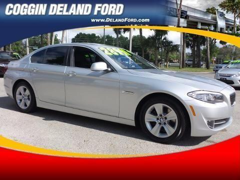2011 BMW 5 SERIES 4 DOOR SEDAN