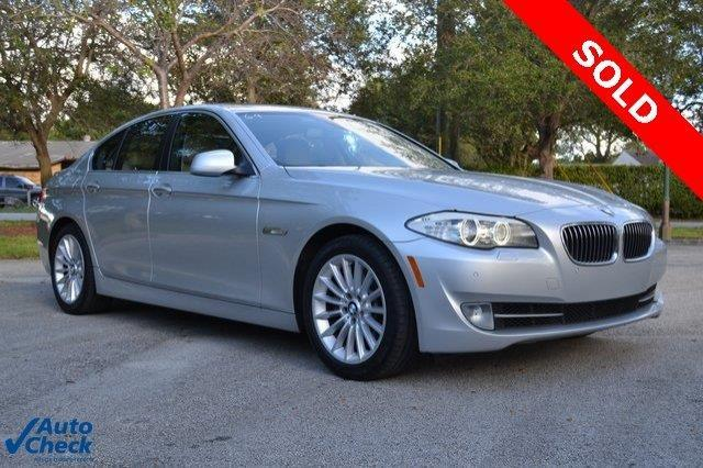 2011 BMW 5 Series 535i 535i 4dr Sedan