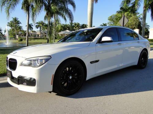 2011 BMW 750LI M PACKAGE Loaded Black Custom Trim