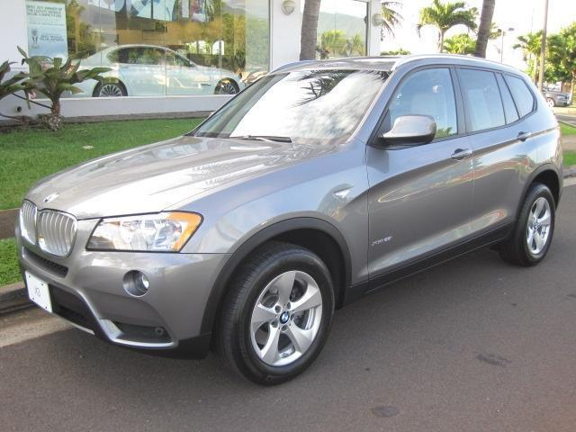 2011 bmw x3 xdrive28i for sale in kahului hawaii. Black Bedroom Furniture Sets. Home Design Ideas