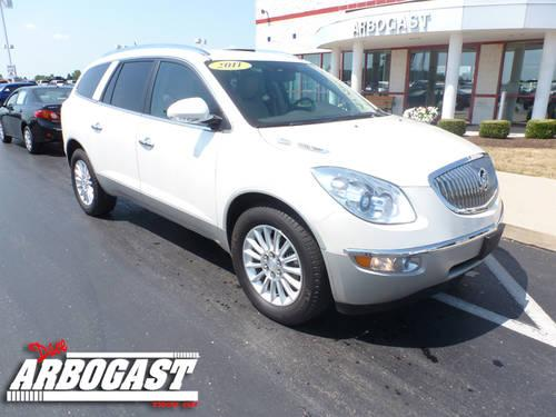 2011 buick enclave suv cxl awd for sale in troy ohio. Black Bedroom Furniture Sets. Home Design Ideas