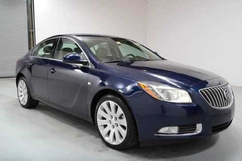 2011 buick regal sedan cxl turbo for sale in guthrie. Black Bedroom Furniture Sets. Home Design Ideas