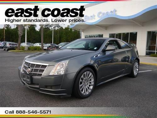 2011 Cadillac Cts Coupe 2dr Car 2dr Cpe Rwd With Bose