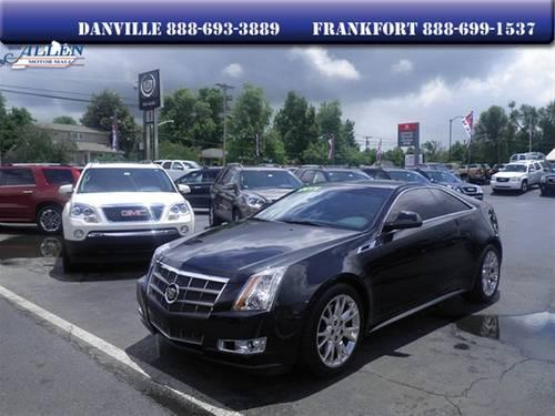 2011 cadillac cts coupe premium for sale in danville kentucky classified. Black Bedroom Furniture Sets. Home Design Ideas
