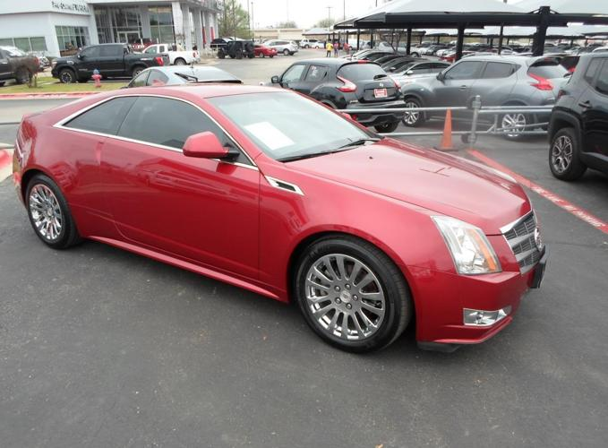 2011 Cadillac CTS Performance Pkge