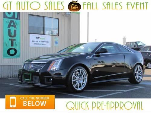2011 cadillac cts v coupe for sale in tacoma washington classified. Black Bedroom Furniture Sets. Home Design Ideas