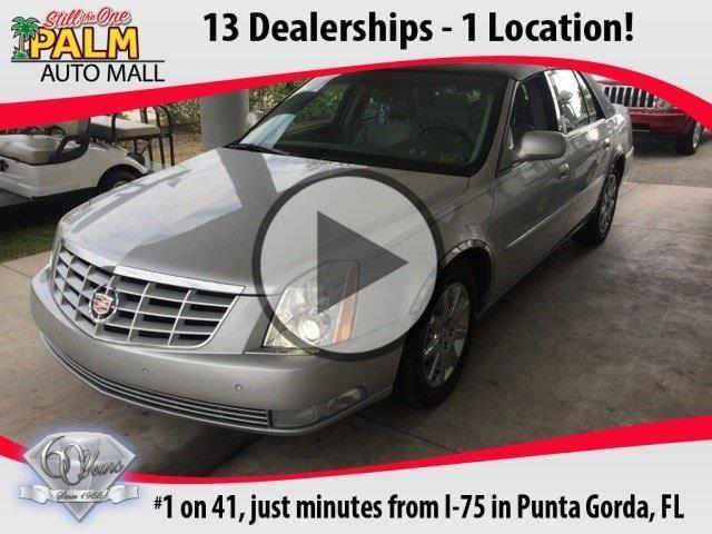 2011 cadillac dts premium collection premium collection 4dr sedan for sale in punta gorda. Black Bedroom Furniture Sets. Home Design Ideas