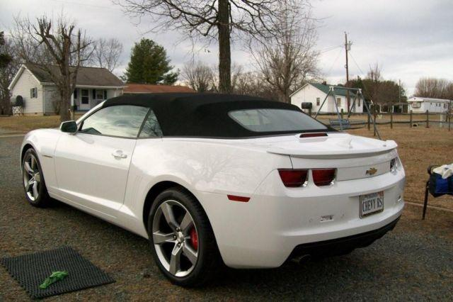 2011 camaro convertible for sale for sale in gretna virginia classified. Black Bedroom Furniture Sets. Home Design Ideas