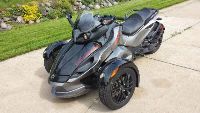 2011 can am spyder rss manual shift with reverse for sale. Black Bedroom Furniture Sets. Home Design Ideas