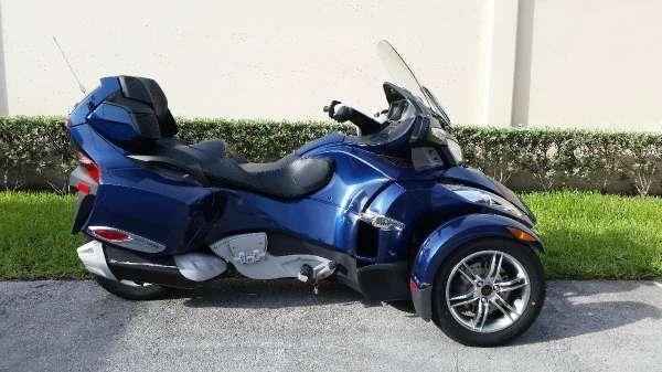 2011 Can Am Spyder Rt S Se5 For Sale In Miami Florida