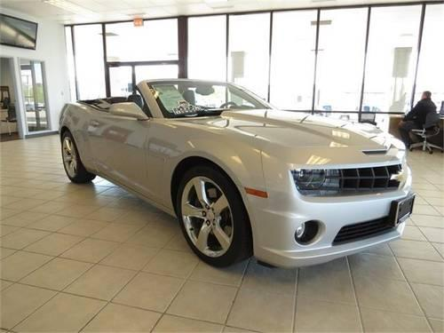 2011 Chevrolet Camaro 2d Convertible Ss For Sale In