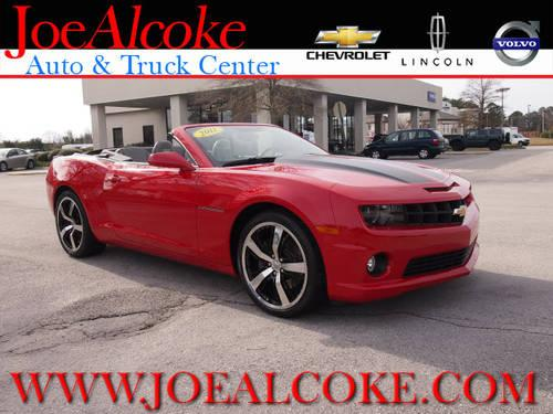 2011 chevrolet camaro convertible ss for sale in new bern north carolina classified. Black Bedroom Furniture Sets. Home Design Ideas