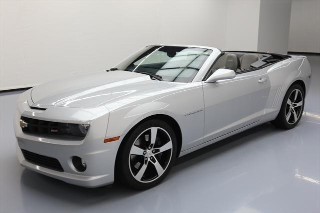 2011 Chevrolet Camaro Ss Ss 2dr Convertible W 2ss For Sale