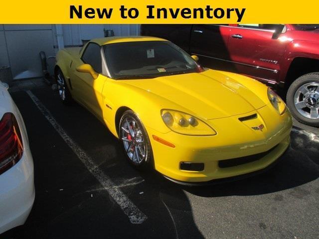 2011 Chevrolet Corvette Z06 Z06 2dr Coupe w/3LZ