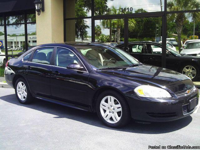 2011 chevrolet impala lt package for sale in tallahassee florida classified. Black Bedroom Furniture Sets. Home Design Ideas