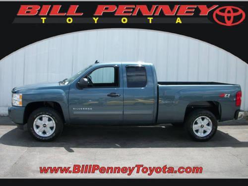Bill Penney Toyota >> 2011 Chevrolet Silverado 1500 Extended Cab Pickup 4X4 LT ...