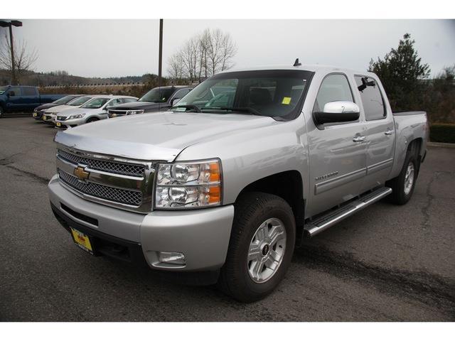 2011 Chevrolet Silverado 1500 Ltz 4x4 Ltz 4dr Crew Cab 5 8 Ft  Sb For Sale In Monroe  Washington