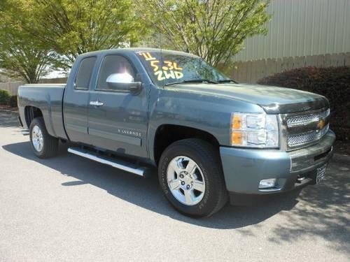 Champion Chevrolet Athens Al >> 2011 Chevrolet Silverado 1500 Pickup Truck LT for Sale in