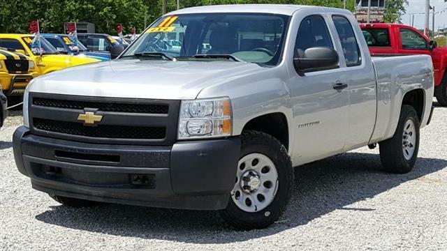 2011 chevrolet silverado 1500 work truck 4x4 work truck 4dr extended cab 6 5 ft sb for sale in. Black Bedroom Furniture Sets. Home Design Ideas