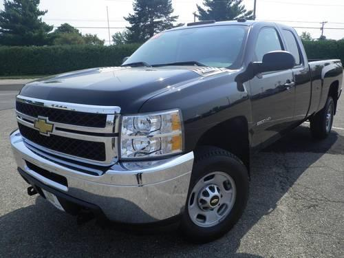 2011 chevrolet silverado 2500hd truck extended cab work truck for sale in beekmantown new york. Black Bedroom Furniture Sets. Home Design Ideas