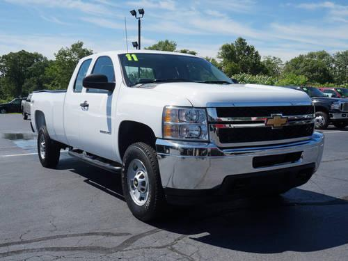 2011 chevrolet silverado 2500hd truck extended cab work truck for sale in hulmeville. Black Bedroom Furniture Sets. Home Design Ideas