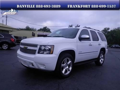 2011 chevrolet tahoe suv ltz for sale in danville. Black Bedroom Furniture Sets. Home Design Ideas