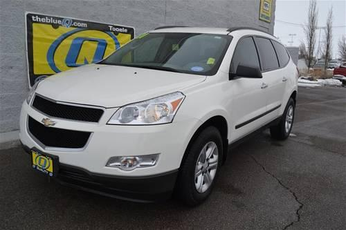 2011 chevrolet traverse suv ls for sale in erda utah. Black Bedroom Furniture Sets. Home Design Ideas