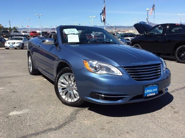 2011 chrysler 200 2dr convertible limited limited for sale in helena montana classified. Black Bedroom Furniture Sets. Home Design Ideas