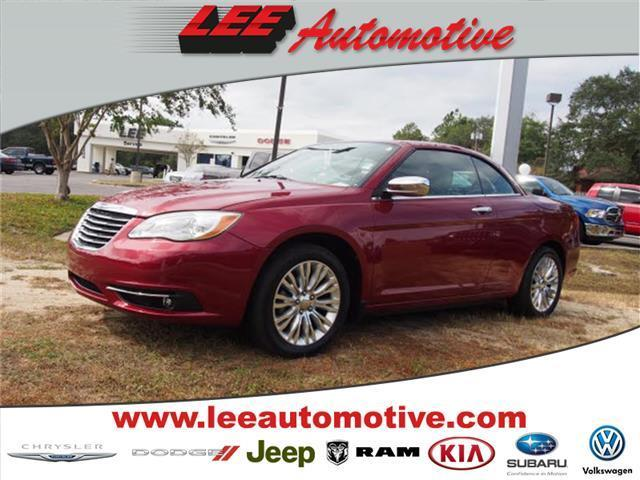 2011 Chrysler 200 Convertible Limited Limited 2dr