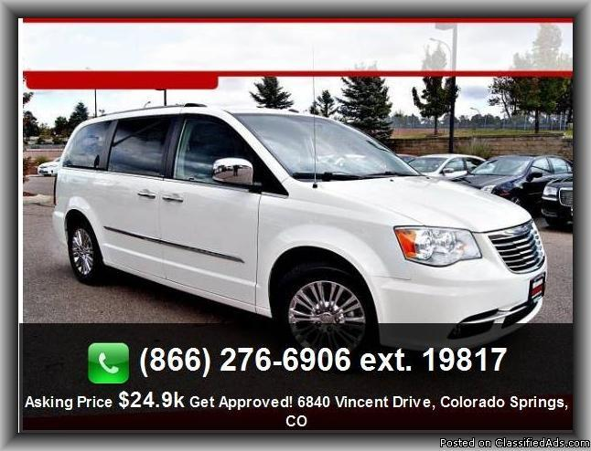 2011 chrysler town and country limited mini van for sale in colorado springs colorado. Black Bedroom Furniture Sets. Home Design Ideas