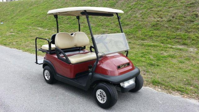 2011 Club Car Street Legal Lights Precedent 4 Seater Golf