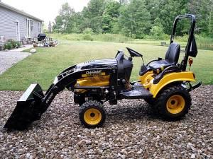 2011 Cub Cadet Sc2400 Sub Compact Tractor With Loader Sullivan For Sale In Mansfield Ohio