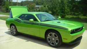 2011 dodge challenger classic r t green with envy hot springs ar for sale in hot springs. Black Bedroom Furniture Sets. Home Design Ideas