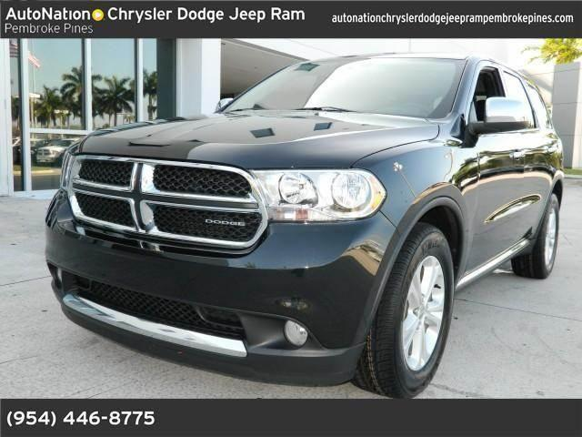 2011 dodge durango for sale in hollywood florida classified. Black Bedroom Furniture Sets. Home Design Ideas